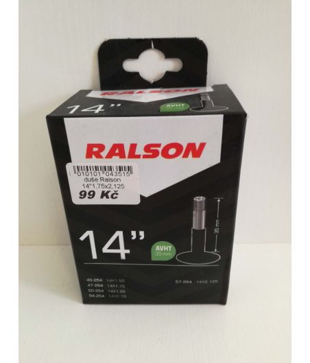 "14""x1.75/2.125 duše Ralson AV"